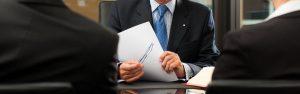 Beratung und Gespraech mit Kunden